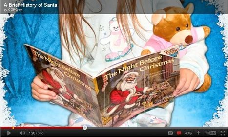 A Brief History of Santa | Transmedia: Storytelling for the Digital Age | Scoop.it