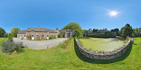 Le château de Pirou - France par Pascal Moulin Photographe - Panorama 360 x 180° | moulin360panoramic | Scoop.it