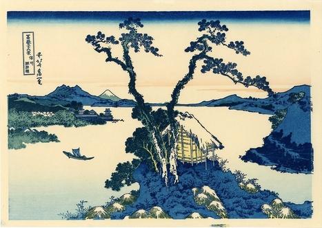vends véritables estampes japonaises de HOKUSAI séries 36 vue du Mont Fuji - paris-vente-veritables-estampes-objets-art-japon.overblog.com | estampes japonaises | Scoop.it