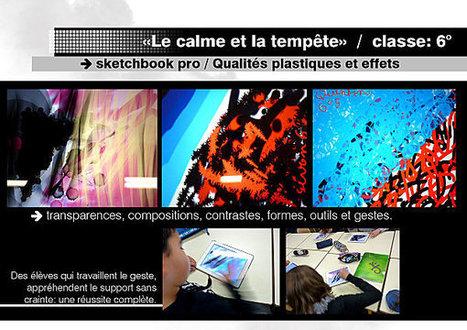 Le blog Arts plastiques et tablette | Infos du CDDP de la Corrèze | Scoop.it