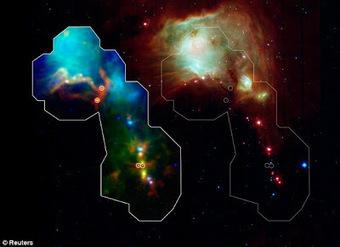 Τέχνης Σύμπαν και Φιλολογία: Tα μωρά του Γαλαξία, The Milky Way's newborns: Herschel telescope reveals galaxy's youngest stars for the first time | Τέχνης Σύμπαν και Φιλολογία | Scoop.it