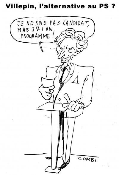 Villepin, l'alternative au PS ? | Baie d'humour | Scoop.it