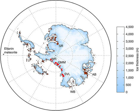 Tiny Fossils Suggest Antarctica's Largest Ice Sheet Could Collapse | Oceans and Wildlife | Scoop.it