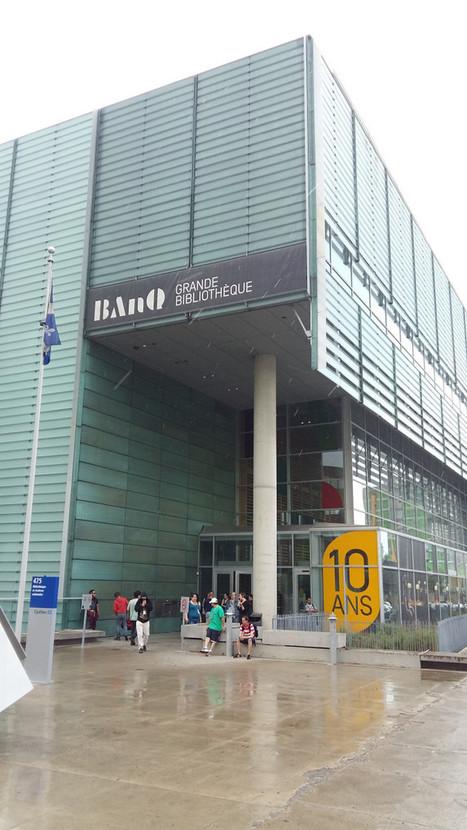 Visite de BanQ – bibliothèque et archives nationales du Québec | Bibliothèque et Techno | Scoop.it
