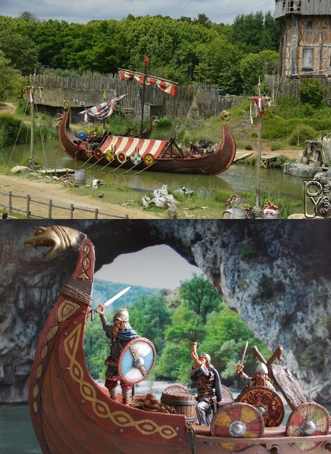 VIKINGS approaching the invaders !!!! | Military Miniatures H.Q. | Scoop.it