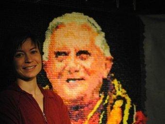 Local artist creates Pope's portrait from condoms - OnMilwaukee.com | Protect Your Pistol | Scoop.it