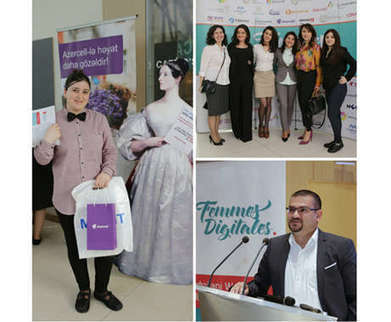 Azercell supports Azerbaijani DigiGirls   Women & Girls in ICT   Scoop.it