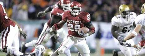 Adrian Peterson Named College Football's Top Running Backs Of The BCS Era   Sooner4OU   Scoop.it
