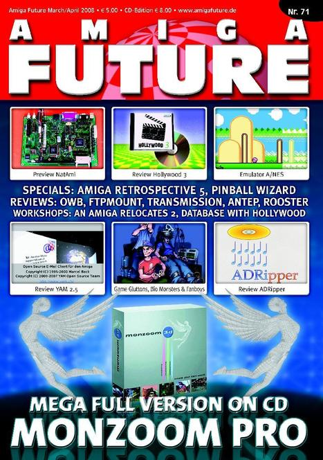 Amiga Future 71 disponible en ligne | Amiga | Scoop.it