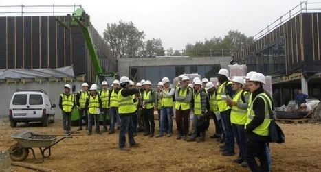 Visite du chantier de la future cité scolaire de Luzech | Press-Book du Lycée Vicat via La Dépêche du Midi | Scoop.it