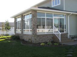 Modify your Deck with 3 Season Sunrooms | Ideal Sunrooms: Building a Sunroom | Scoop.it