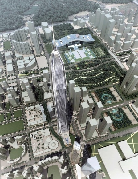 Construction of China's Tallest Building On Hold Due to Concrete ... | Construction Crisis Management | Scoop.it