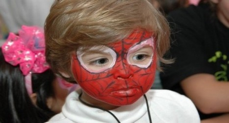 Maquiagem artística para aniversário infantil | Notícias | Scoop.it