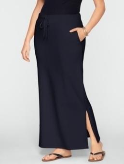 Stretch Weekend Terry Drawstring Skirt | Gentleman | Scoop.it