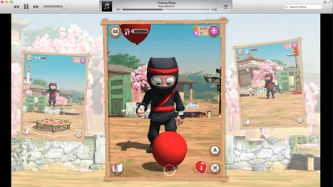 Apple featuring Clumsy Ninja in App Store with video trailer, hopefully a sign of better marketing for developers | App Promotion Videos | Scoop.it
