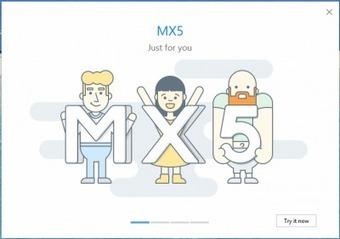 Présentation de la version 5.0.0.2600 de mx5 - Nouvelles | Maxthon | Scoop.it
