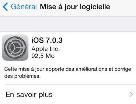 iOS 7.0.3 disponible sur iPhone, iPad, iPod Touch - Worldissmall   ipod Touch   Scoop.it