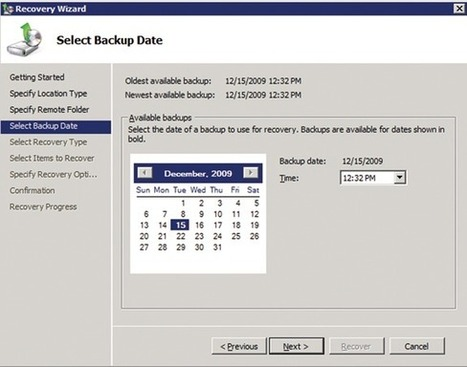 Data Protection: Backup Basics in Windows Server 2008 R2 | Nova Tech Consulting | Scoop.it