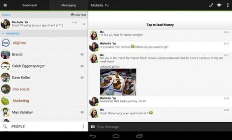 Imo Messenger est maintenant disponible en 30 langues sur Android - Frandroid   Geeks   Scoop.it