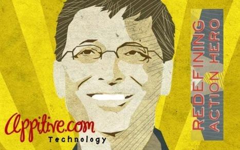 Bill Gates is Better Than Batman | Appitive.com | Scoop.it