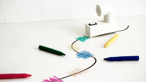A Robot Train That Lets You Write Music With Magic Markers | Radio Show Contents | Scoop.it