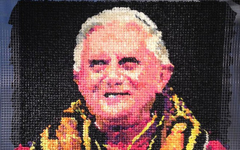 Pope portrait made out of 1,700 condoms scandalises art-loving Catholics | The Atheism News Magazine | Scoop.it