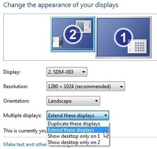 How to Set up Dual Monitors in PowerPoint for Windows 7 | Presenting | Scoop.it