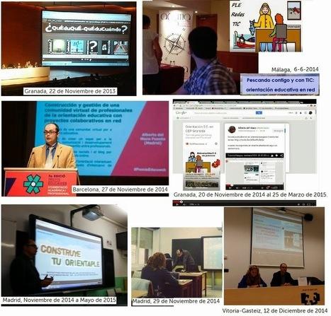 Mi portfolio 2013-15 como formador en orientación 2.0.   Orientación Educativa - Enlaces para mi P.L.E.   Scoop.it
