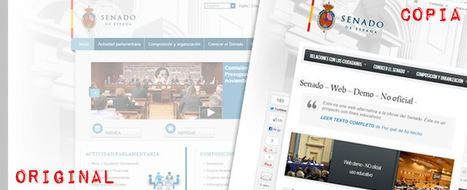 Crean a 'coste cero' un clon funcional de la web del Senado - Tecnología - ElConfidencial.com | Pahabernosmatao | Scoop.it