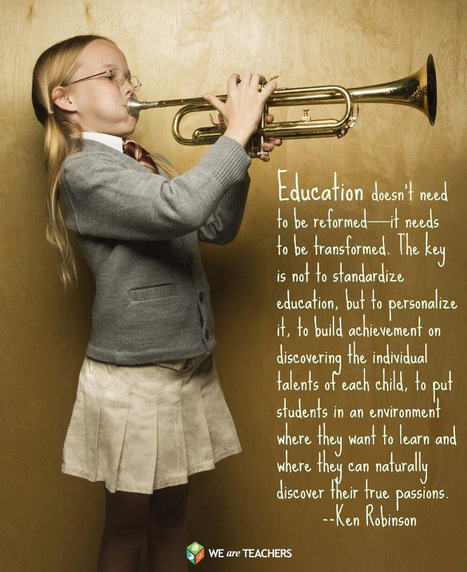 Even More Thought-Provoking Gems for Teachers | A New Society, a new education! | Scoop.it