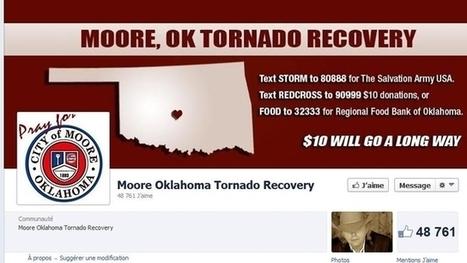 Les réseaux sociaux à l'aide des sinistrés de la tornade | Réseaux sociaux, l'actu | Scoop.it