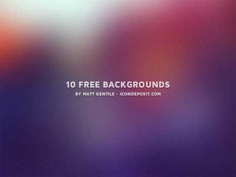 10 Free Backgrounds - Icon Deposit | WordPress Website Optimization | Scoop.it