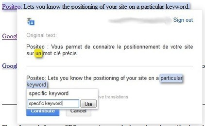 Nouvelle Fonctionnalité pour le Plugin Google Translate | WebZine E-Commerce &  E-Marketing - Alexandre Kuhn | Scoop.it