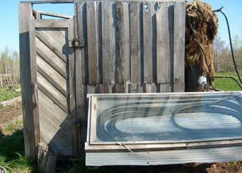 Construire une douche solaire avec des palettes | Do it yourself (www.bricolons.ch) | Scoop.it