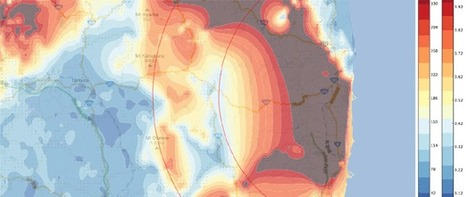 Google Maps Mania: Mapping Japan's Radiation Levels | Geospatial Pro - GIS | Scoop.it