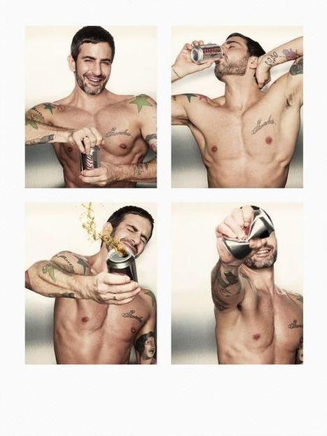 Marc Jacobs tout en muscles pour Coca-Cola | Culture Sexe | Scoop.it
