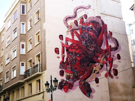 Zaragoza - Surprisingly Full of Street Art | World of Street & Outdoor Arts | Scoop.it
