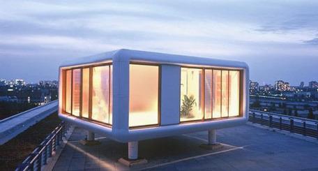 Vulbus Incognita: LoftCube, para vivir en una azotea | VIM | Scoop.it