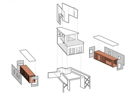 Studio H:T's off-grid Shipping Container House - Gizmag | Container houses | Scoop.it