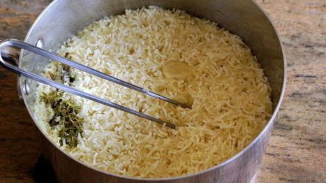 Riz pilaf ou riz au gras - Recette du riz pilaf (cuire le riz pilaf) - Chef Simon par Chef Simon   Mon vrac :   Scoop.it