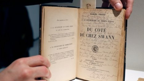 Proust's personal archives sell at auction for $1.3 mn | 2013-2016 The Years of Reading Proust | Scoop.it