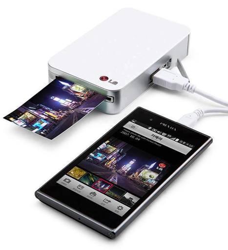 Mini Printer for Mobile طابعة للهاتف المحمول | Technologies | Scoop.it