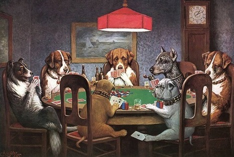 15 Things You Should Know About 'Dogs Playing Poker' | this curious life | Scoop.it