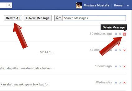 Supprimer ses messages privés sur Facebook | isabel | Scoop.it