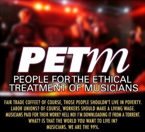 Digital Music News - People for the Ethical Treatment of Musicians (PETm). Who's In? | Kill The Record Industry | Scoop.it