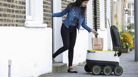 Robots will hit the streets to deliver your groceries this fall in Washington, D.C. | ZenStorming - Design Raining Innovation | Scoop.it