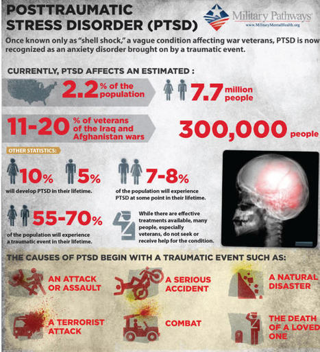 What Causes PTSD? What are the Symptoms? | | Mental Health Blog | PTSD & Adventure Therapy Curation | Scoop.it