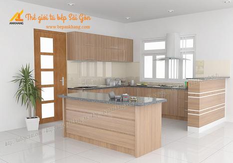 Tủ bếp nhà anh THU quận bình thạnh. | Tủ bếp, Bếp An Khang tạo dấu ấn cho ngôi nhà VIỆT 0839798355 | Scoop.it