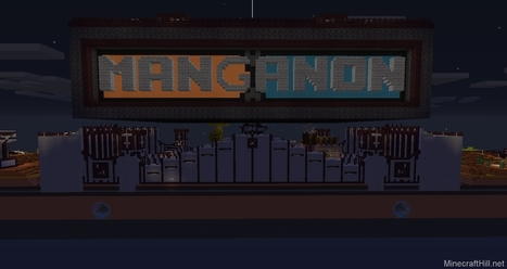 Manganon Map: King of The Hill   Minecraft Mods   Scoop.it