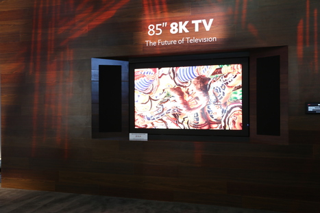 Hands on with Sharp's unreal 32-inch 4K IGZO 'Retina display' as well as 8K and bendable displays | 8K TV Video Entertainment: Here NOW! | Scoop.it
